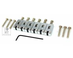 "GRAPH TECH PG-8000-0C STRING SAVER CLASSICS STRAT& TELE STYLE 2 1/16"" CHROME (6 PCS) Набор сёдел для гитар"
