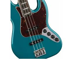 FENDER AMERICAN ELITE JAZZ BASS EBONY FRETBOARD OCEAN TURQOISE Бас-гитара