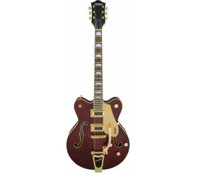 Купить GRETSCH G5422TG ELECTROMATIC HOLLOW BODY DOUBLE CUT WALNUT STAIN GOLD HARDWARE Гитара полуакустическая онлайн