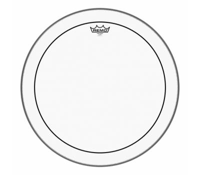 "Купить REMO Batter, PINSTRIPE, Clear, 20"" Diameter Пластик для барабана онлайн"
