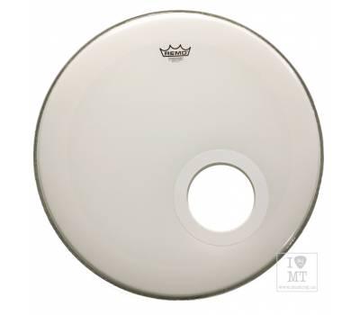 "Купить REMO Bass, POWERSTROKE 3, SMOOTH WHITE, 22"" Пластик для барабана онлайн"