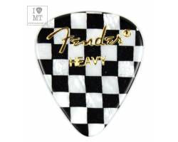 FENDER 351 SHAPE PREMIUM PICKS CHECKER HEAVY Медіатор