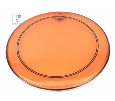 "Купить REMO POWERSTROKE3 22"" COLORTONE ORANGE Пластик для барабана онлайн"