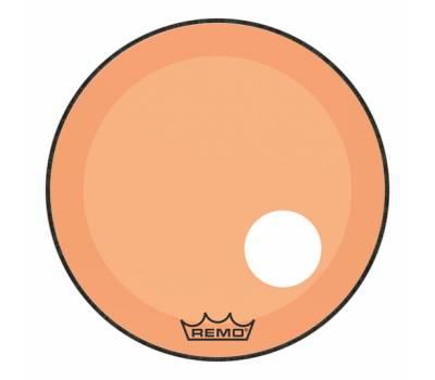 "Купить REMO POWERSTROKE3 22"" COLORTONE ORANGE WITH 5"" OFFSET HOLE Пластик для барабана онлайн"