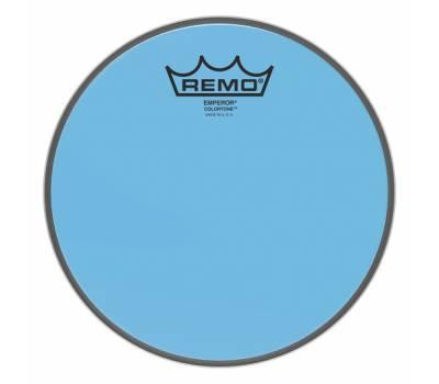 "Купить REMO EMPEROR 8"" COLORTONE BLUE Пластик для барабана онлайн"