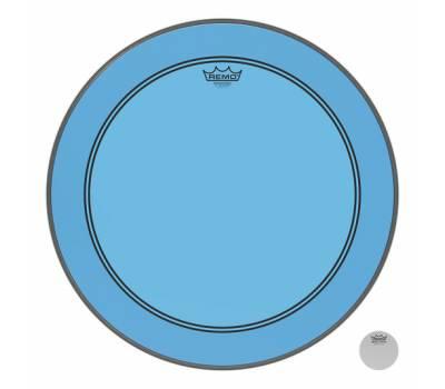 "Купить REMO POWERSTROKE3 22"" COLORTONE BLUE Пластик для барабана онлайн"