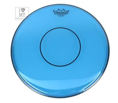 "Купить REMO POWERSTROKE 77 14"" COLORTONE BLUE Пластик для барабана онлайн"