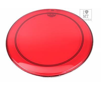 "Купить REMO POWERSTROKE3 22"" COLORTONE RED Пластик для барабана онлайн"