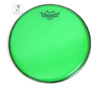 "Купить REMO EMPEROR 10"" COLORTONE GREEN Пластик для барабана онлайн"