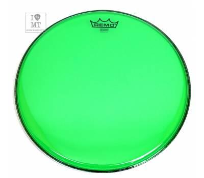 "Купить REMO EMPEROR 14"" COLORTONE GREEN Пластик для барабана онлайн"