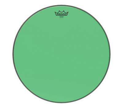 "Купить REMO EMPEROR 18"" COLORTONE GREEN Пластик для барабана онлайн"