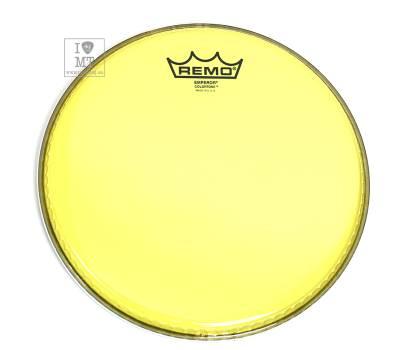 "Купить REMO EMPEROR 10"" COLORTONE YELLOW Пластик для барабана онлайн"