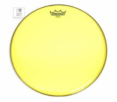 "Купить REMO EMPEROR 14"" COLORTONE YELLOW Пластик для барабана онлайн"