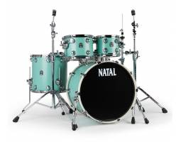 NATAL DRUMS CAFE RACER SEA FOAM GREEN Ударная установка