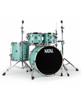 NATAL DRUMS CAFE RACER SEA FOAM GREEN Ударна установка