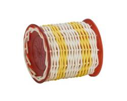 NATAL DRUMS GANZA SMALL YELLOW BAND RED ENDS Шейкер