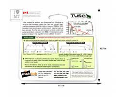 "GRAPH TECH PQ-4125-00 TUSQ Nut Slab 1/8"" Заготовка для порожка"