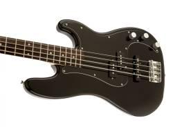 SQUIER by FENDER AFFINITY PJ BASS LRL BLK Бас-гитара