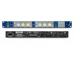 "FOCUSRITE ISA TWO Dual Channel ISA Mic pre, 19"" 1U rackmountable Предусилитель микрофонный"