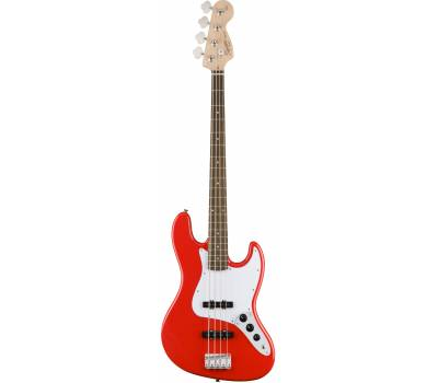 Купить SQUIER by FENDER AFFINITY JAZZ BASS LRL RACE RED Бас-гитара онлайн
