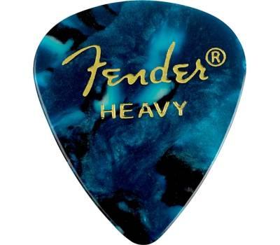 Купить FENDER 351 SHAPE PREMIUM PICKS HEAVY OCEAN TURQUOISE Медиатор онлайн