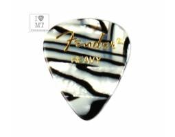 FENDER 351 SHAPE PREMIUM PICKS ZEBRA HEAVY Медиатор
