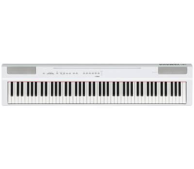 Купить YAMAHA P-125WH Цифровое пианино онлайн