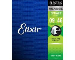 ELIXIR EL OW CL Струни для електрогітар