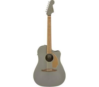 Купить FENDER REDONDO PLAYER SLATE SATIN Гитара электроакустическая онлайн
