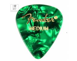 FENDER 351 GREEN PICK GROSS MEDIUM Медіатор