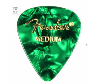 Купить FENDER 351 GREEN PICK GROSS MEDIUM Медиатор онлайн