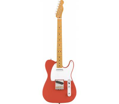 Купить FENDER VINTERA '50s TELECASTER MN FIESTA RED Электрогитара онлайн