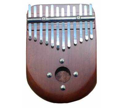 Купить PALM PERCUSSION KALIMBA CURVE SHAPE BROWN Калимба онлайн