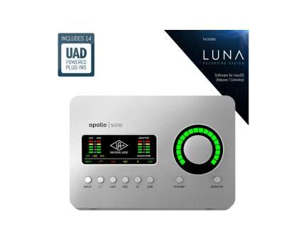 Купить UNIVERSAL AUDIO Apollo Solo Thunderbolt 3 Аудиоинтерфейс онлайн