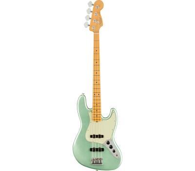 Купить FENDER AMERICAN PRO II JAZZ BASS MN MYSTIC SEAFOAM GREEN Бас-гитара онлайн