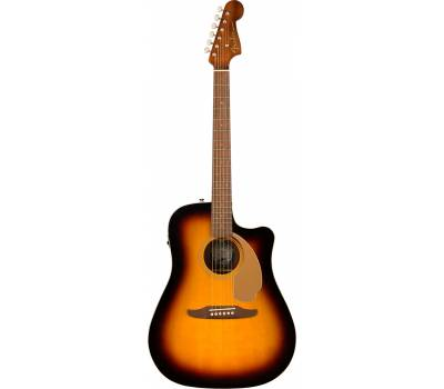 Купить FENDER REDONDO PLAYER SUNBURST WN Гитара электроакустическая онлайн