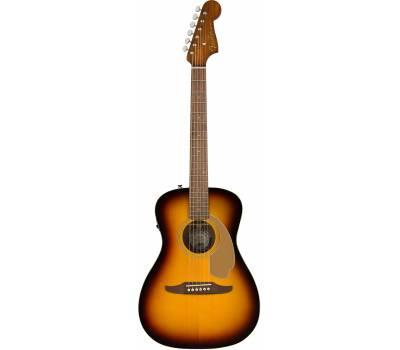 Купить FENDER MALIBU PLAYER SUNBURST WN Гитара электроакустическая онлайн