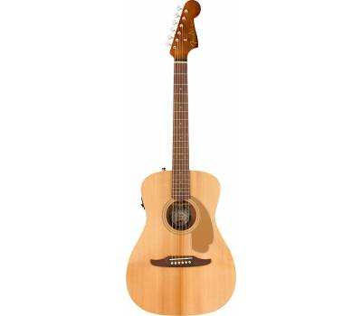 Купить FENDER MALIBU PLAYER NATURAL WN Гитара электроакустическая онлайн