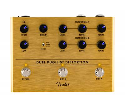 Купить FENDER PEDAL DUEL PUGILIST DISTORTION Педаль эффектов онлайн