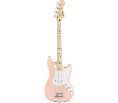 Купить SQUIER by FENDER AFFINITY BRONCO BASS MN SHELL PINK FSR Бас-гитара онлайн