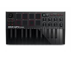 AKAI MPK MINI MK3 Black MIDI клавіатура