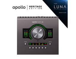 UNIVERSAL AUDIO Apollo Twin X DUO Heritage Edition (Desktop/Mac/Win/TB3) Аудиоинтерфейс