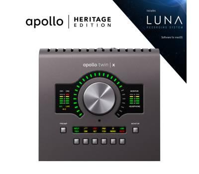 Купить UNIVERSAL AUDIO Apollo Twin X DUO Heritage Edition (Desktop/Mac/Win/TB3) Аудиоинтерфейс онлайн