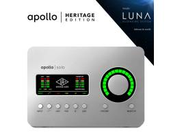 UNIVERSAL AUDIO Apollo Solo Heritage Edition (Desktop/Mac/Win/TB3) Аудиоинтерфейс