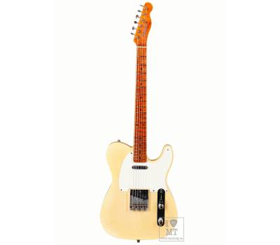 Купить FENDER CUSTOM SHOP 1955 TELECASTER JOURNEYMAN RELIC SUPER FADED NOCASTER BLONDE Электрогитара онлайн