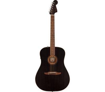 Купить FENDER REDONDO SPECIAL OPEN PORE BLACK TOP LTD Гитара электроакустическая онлайн