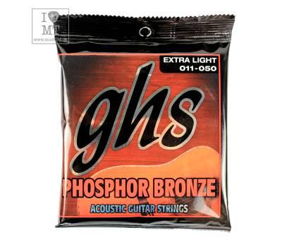 Купить GHS STRINGS PHOSPHOR BRONZE S315 Струны для акустических гитар онлайн