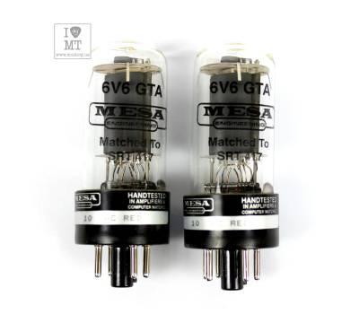 Купить MESA BOOGIE 6V6 GTA STR 417 VACUUM TUBE DUET Подобранная пара ламп онлайн