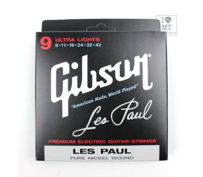 Купить GIBSON SEG-LP9 LES PAUL PURE NICKEL WOUND .009-.042 Струны для электрогитар онлайн