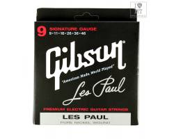 GIBSON SEG-LPS LES PAUL SIG. PURE NICKEL WOUND .009-.046 Струны для электрогитар